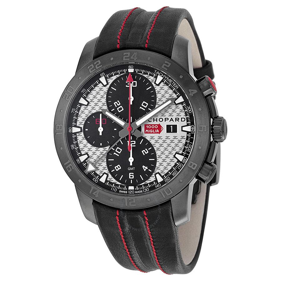Chopard Mille Miglia Zagato Automatic Silver Dial Dlc Coated Casio Edifice 543d Stainless Chrono Men Watch Steel Mens 168550
