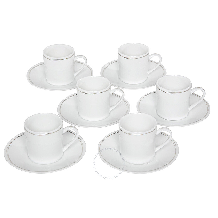 Christofle Vertigo Cup and Saucer Set of 6 - 7658513 ...  sc 1 st  Jomashop & Christofle Vertigo Cup and Saucer Set of 6 - 7658513 - Christofle ...