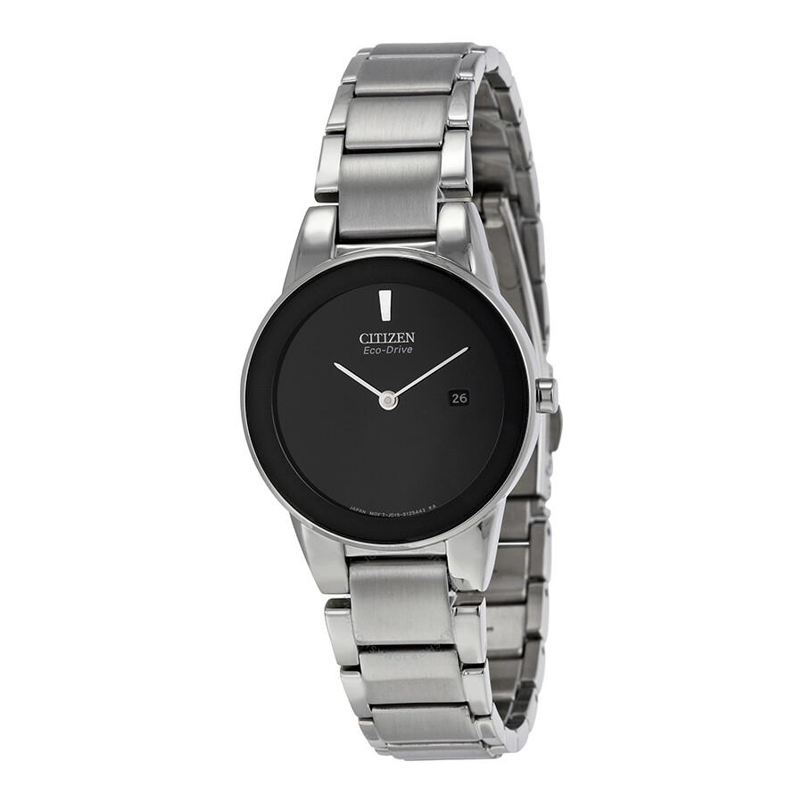 Citizen Axiom Eco Drive Black Dial Ladies Watch GA1050-51E - Axiom ... d2b14e78b