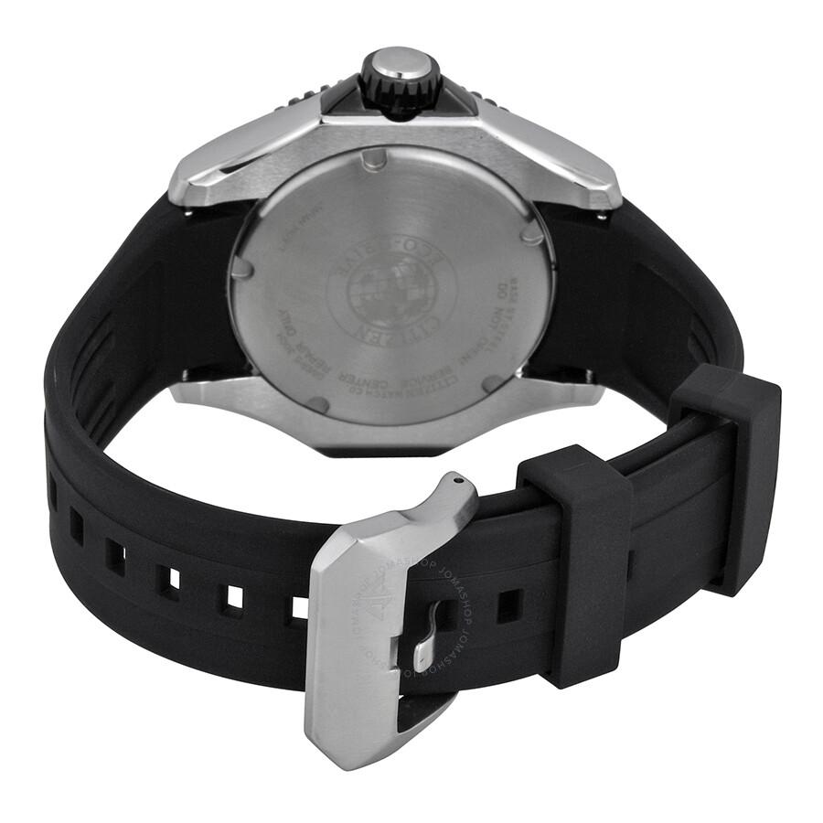 ... Citizen Eco-Drive Black Dial Black Rubber Men s Watch BN0085-01E ... ce021245dc