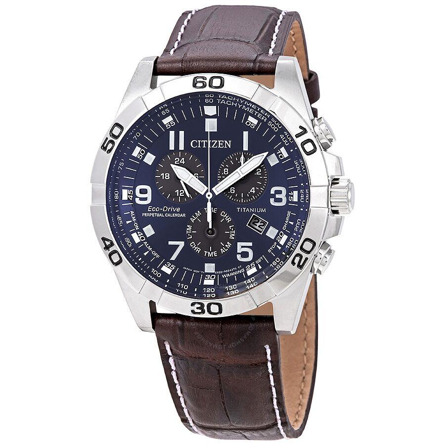 Citizen Brycen Chronograph Dark Blue Dial Men S Watch Bl5551 06l