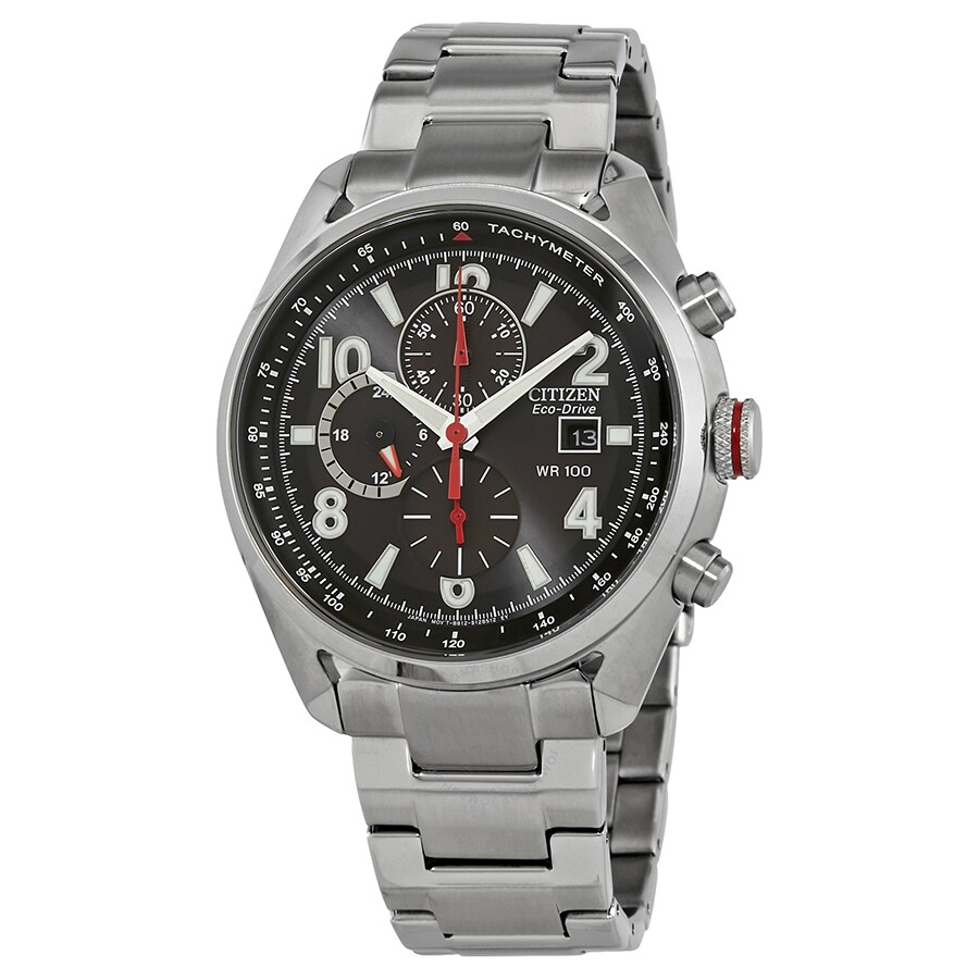 9ea779ec7 Citizen Chandler Eco-Drive Chronograph Black Dial Men's Watch CA0368-56E ...