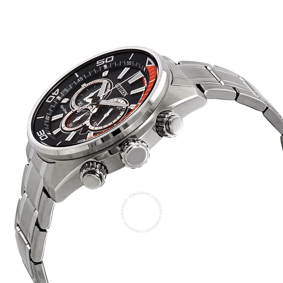 550d7ef8f ... Citizen Chandler Eco-Drive Chronograph Black Dial Men's Watch  CA4330-57E ...