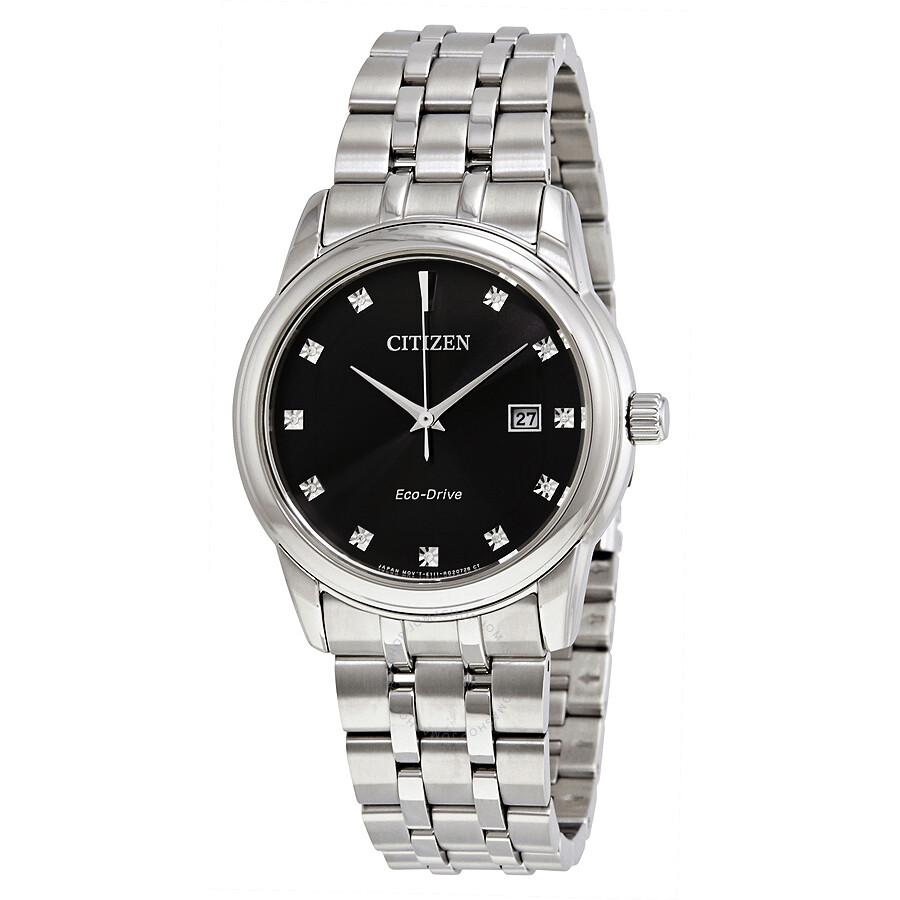 442ae2d04480 Citizen Diamond Collection Black Dial Men s Watch BM7340-55E ...