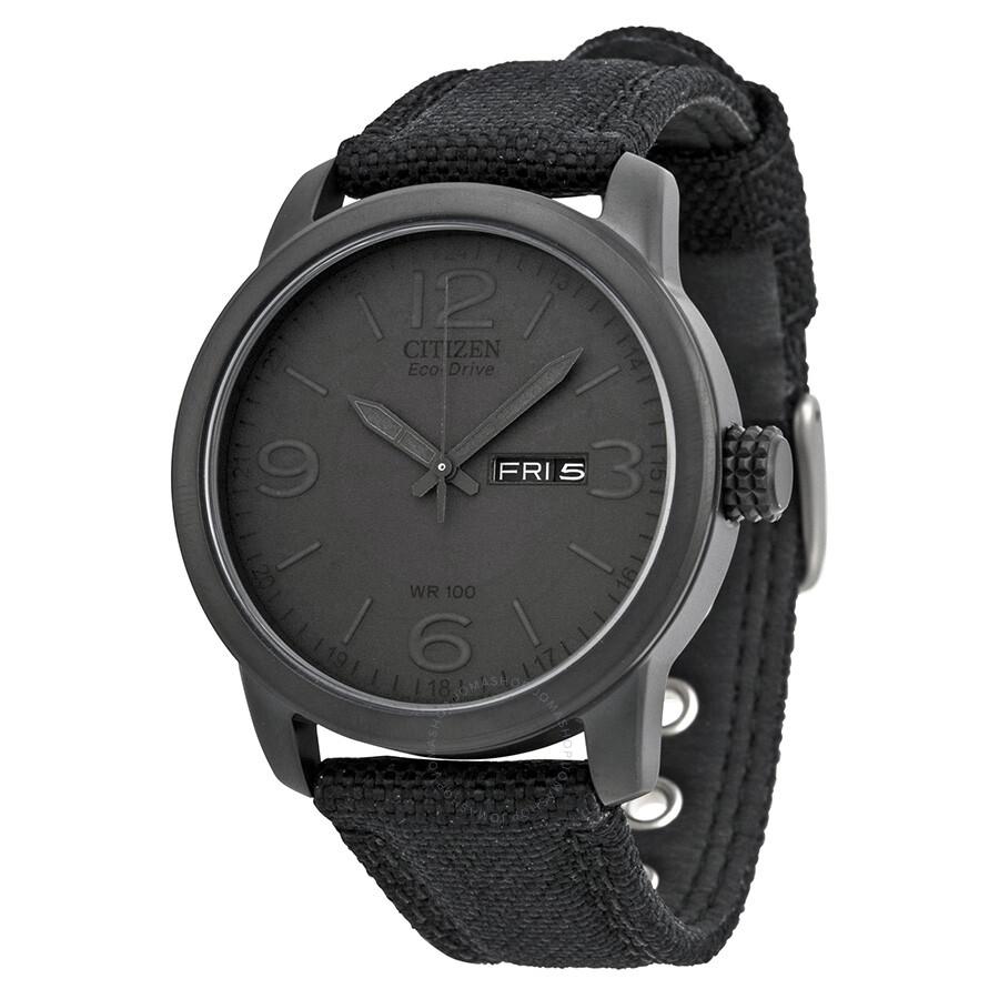 Citizen eco drive black dial men 39 s watch bm8475 00f eco drive citizen watches jomashop for Citizen watches
