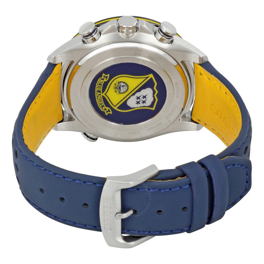 Citizen Eco Drive Blue Angels World Chronograph Men's ...