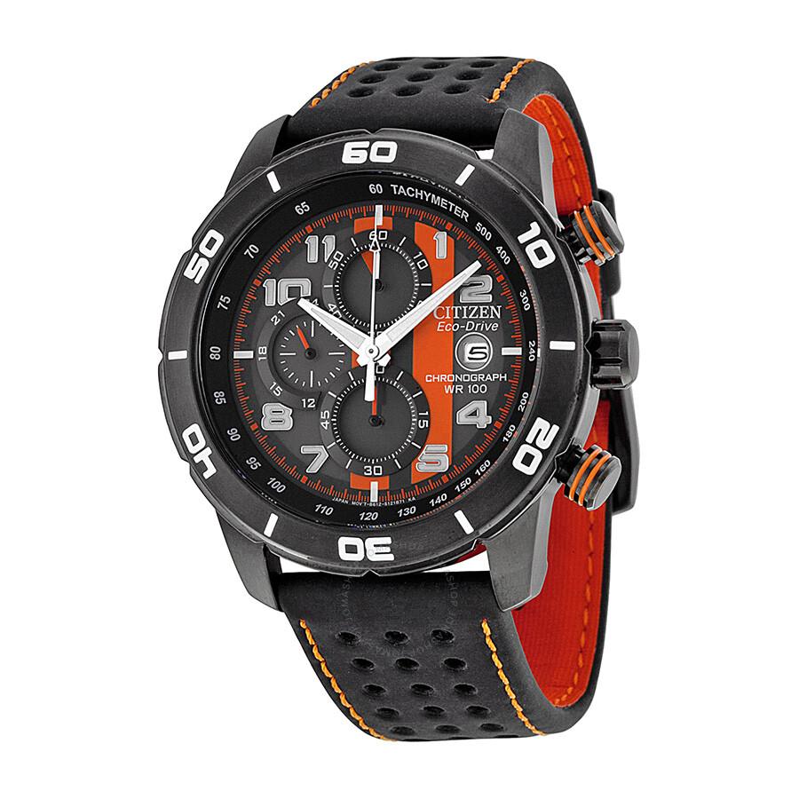 Citizen eco drive grey dial chronograph men 39 s watch ca0467 11h eco drive citizen watches for Eco drive watch