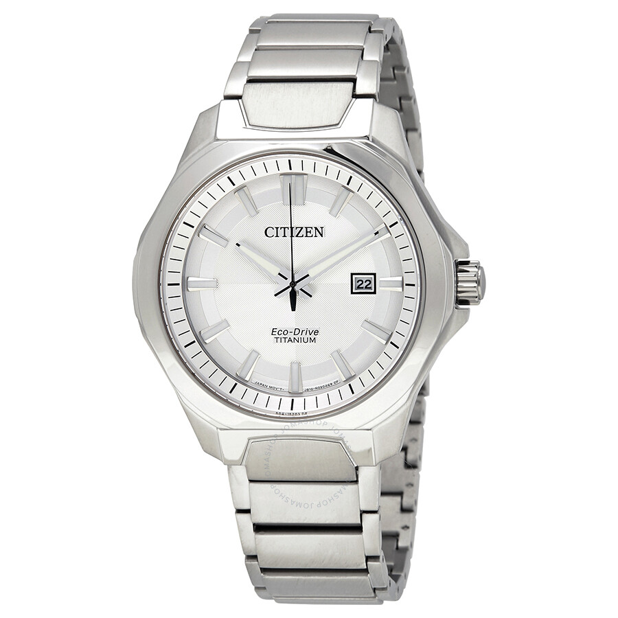 Citizen eco drive men 39 s titanium watch aw1540 88a eco drive citizen watches jomashop for Eco drive watch