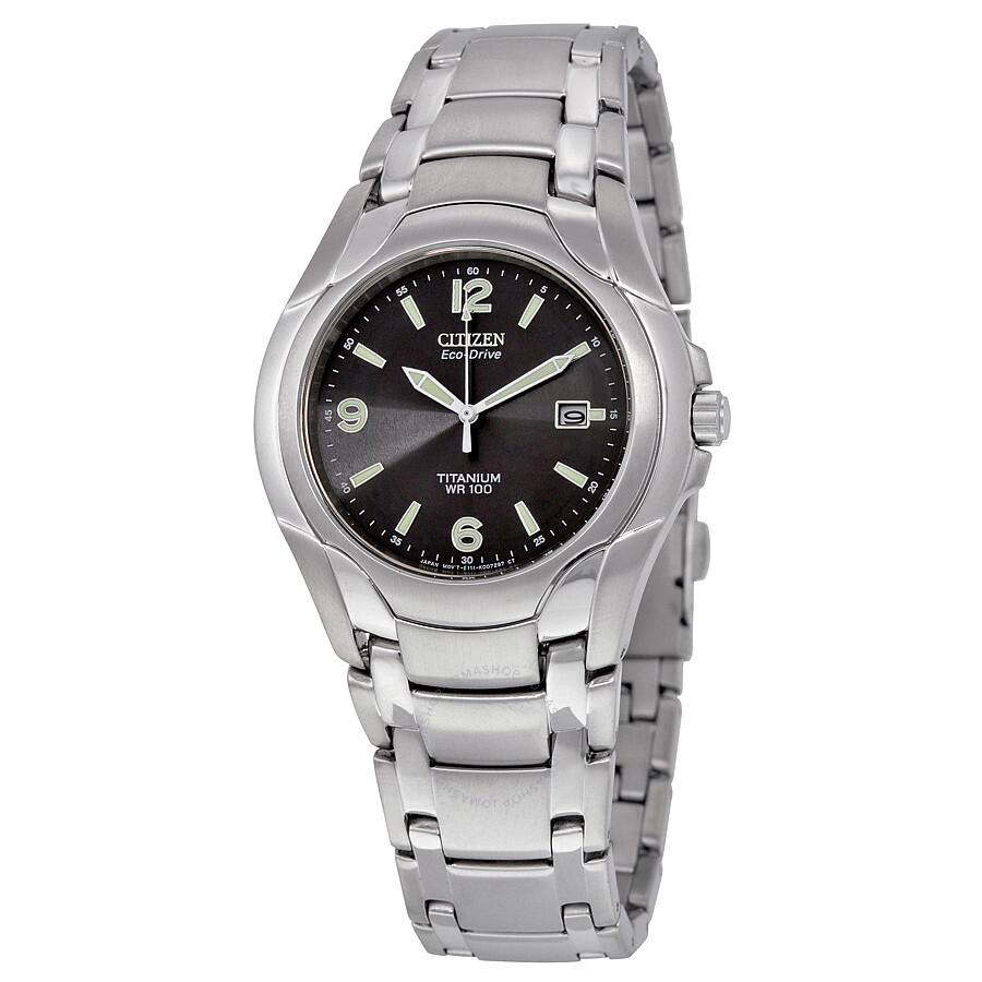 Citizen Eco Drive Anium Bracelet Men S Watch Bm6060 57f
