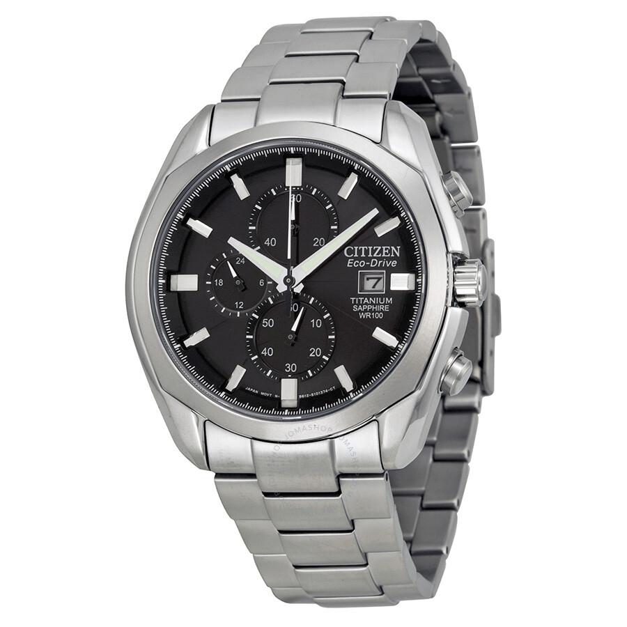 Citizen Eco-Drive Titanium Chronograph Men's Watch CA0020 ...