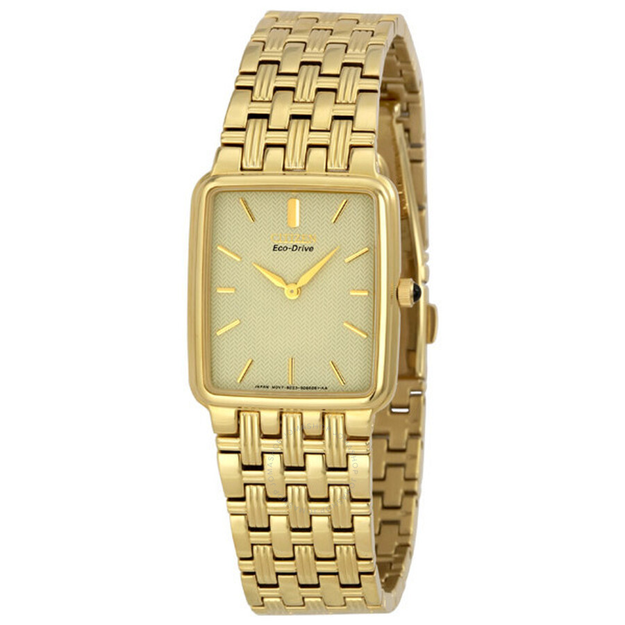 citizen eco drive gold tone men s watch bl6042 55p eco drive citizen eco drive gold tone men s watch bl6042 55p