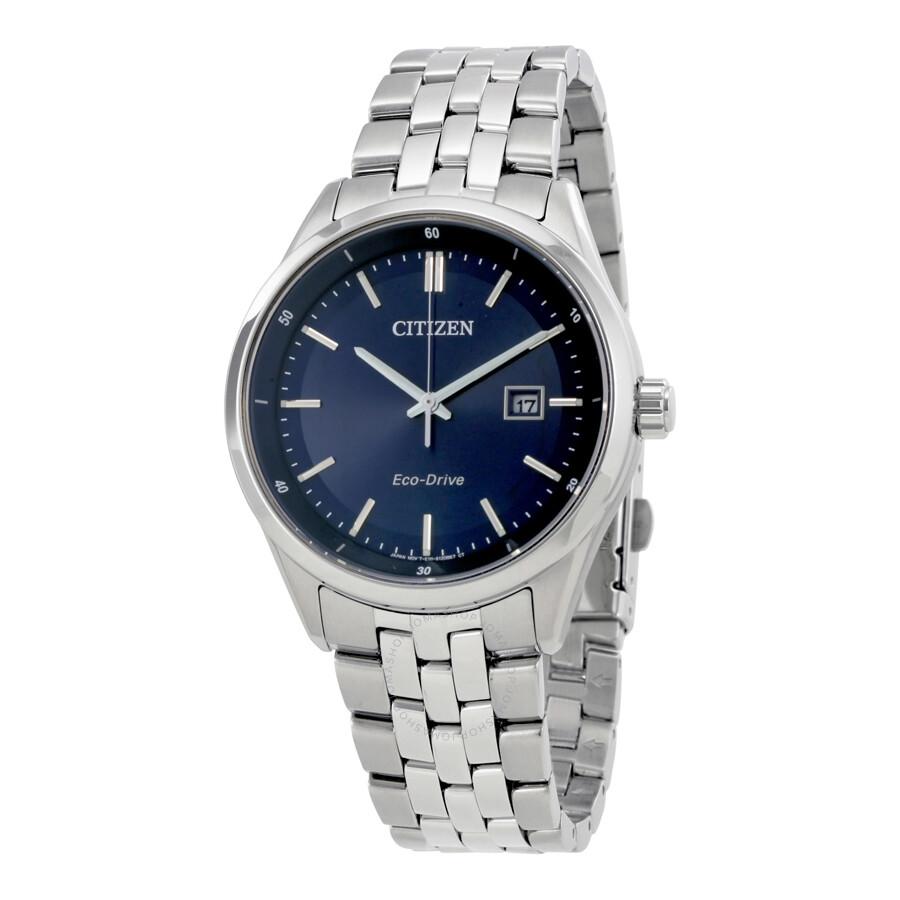 9ccf7e6f95b Citizen Men s Bracelet Blue Dial Eco-Drive Watch BM7251-53L - Mens ...