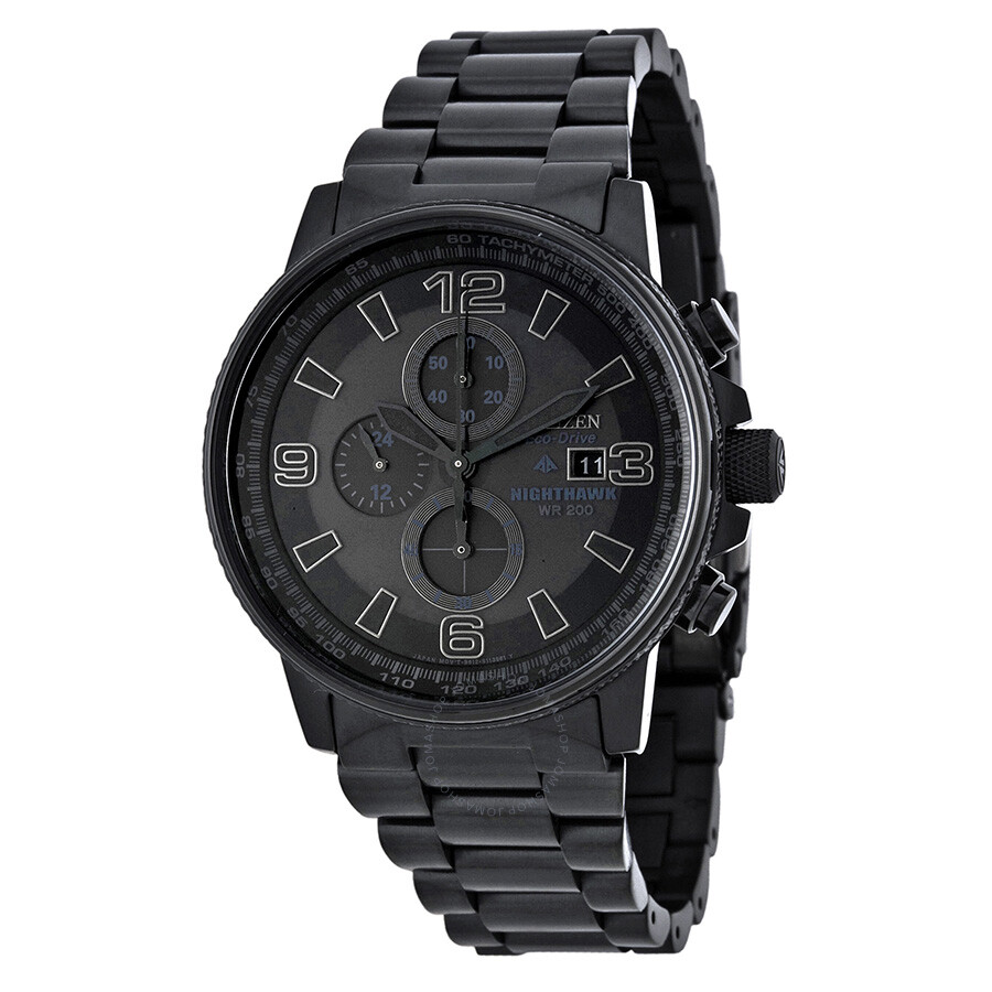 f7bb2be9e47 Citizen NightHawk EcoDrive Chronograph Men s Watch