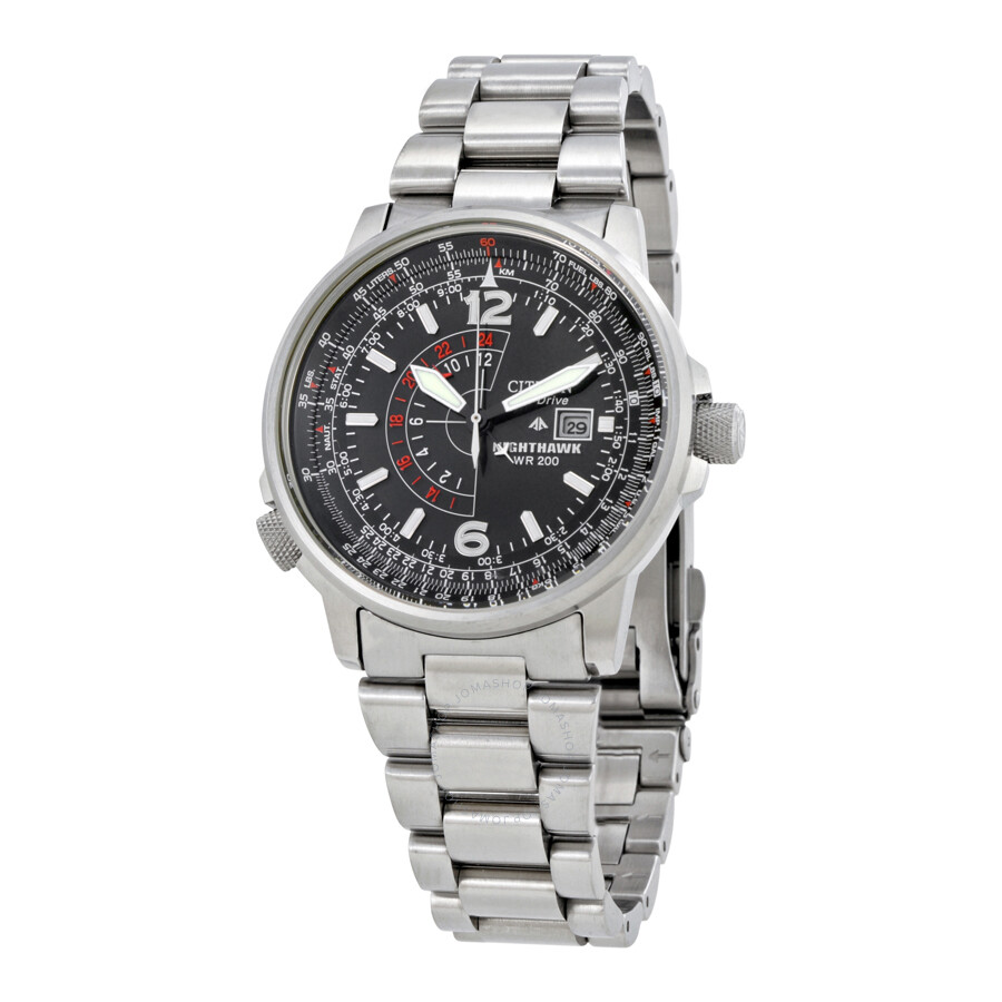 02d82386f8e Citizen Nighthawk Eco-Drive Pilot Watch Men s Watch BJ7000-52E - Eco ...