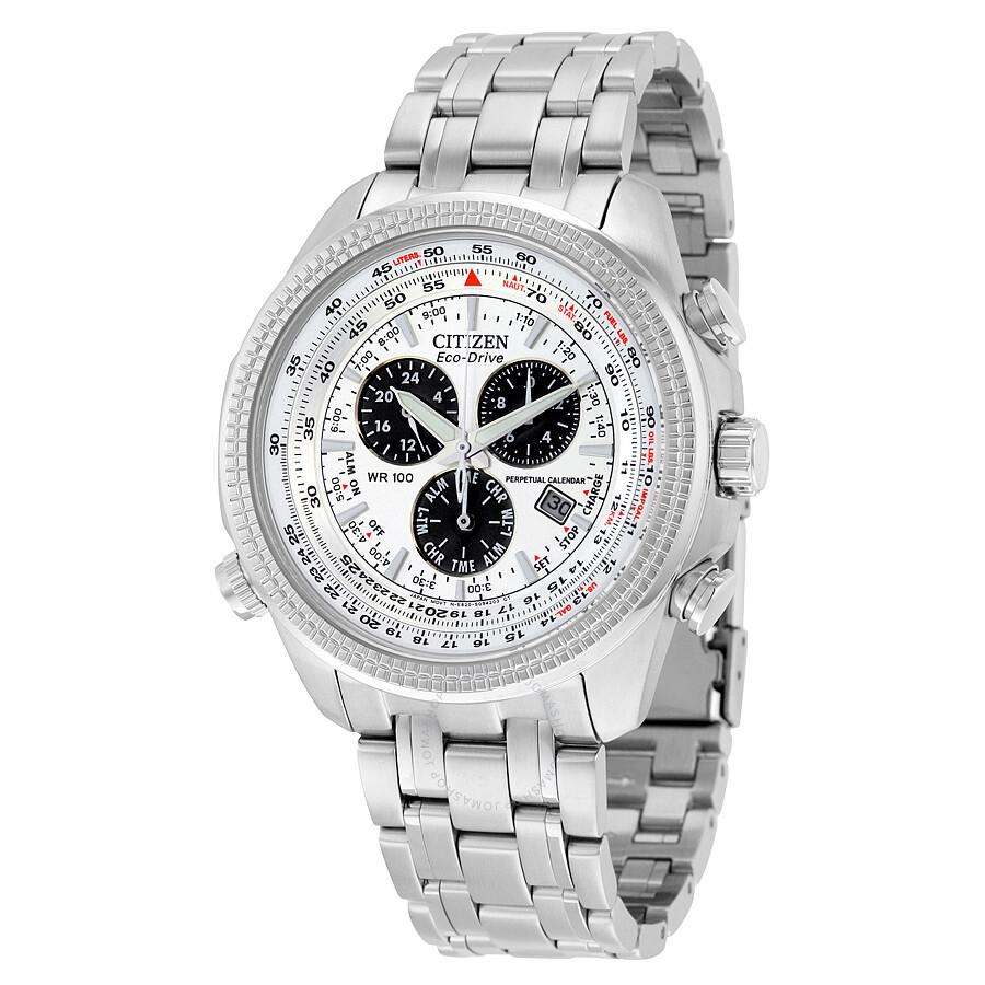 Citizen perpetual calendar eco drive men 39 s watch bl5400 for Citizen eco dive