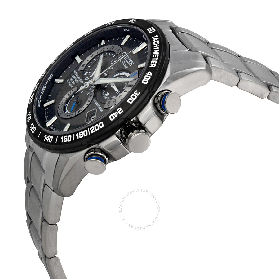 3b43d5aadd3 ... Citizen Perpetual Chrono A-T Eco-Drive Titanium Chronograph Men s Watch  AT4010-50E ...