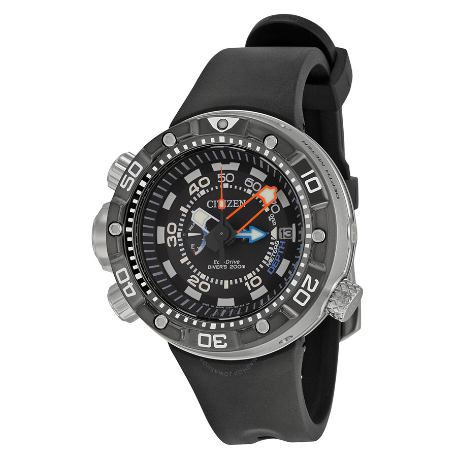 7c66c217f90 Citizen Promaster Aqualand Depth Meter Black Dial Men s Watch BN2029-01E ...