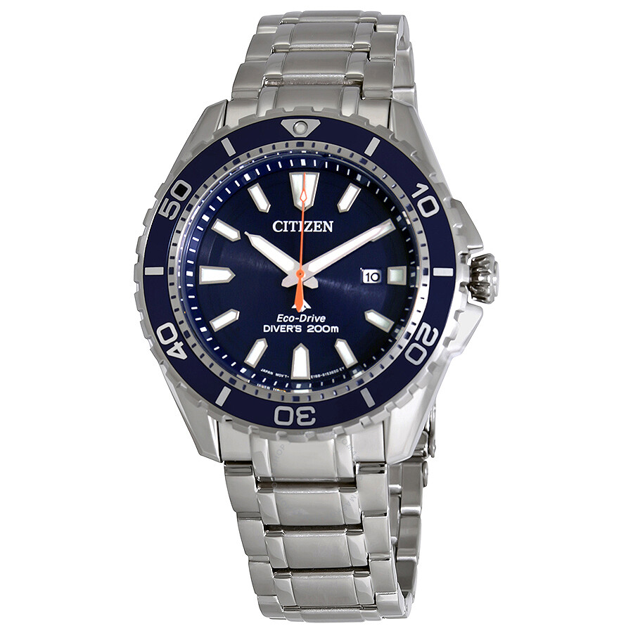 Citizen Promaster Diver Blue Dial Men s Stainless Steel Watch BN0191-55L ... 7f148ce3483a