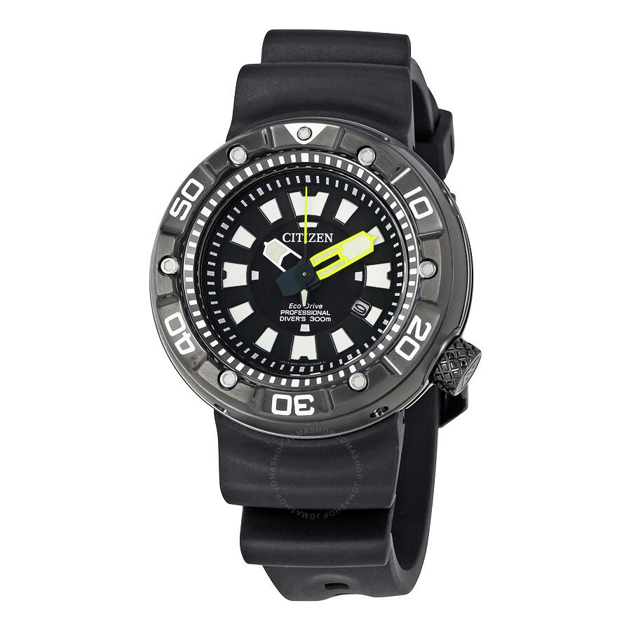 citizen promaster diver black dial men 39 s watch bn0175 19e. Black Bedroom Furniture Sets. Home Design Ideas