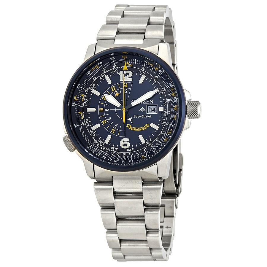 Citizen promaster nighthawk blue dial men 39 s watch bj7006 56l promaster citizen watches for Citizen watches