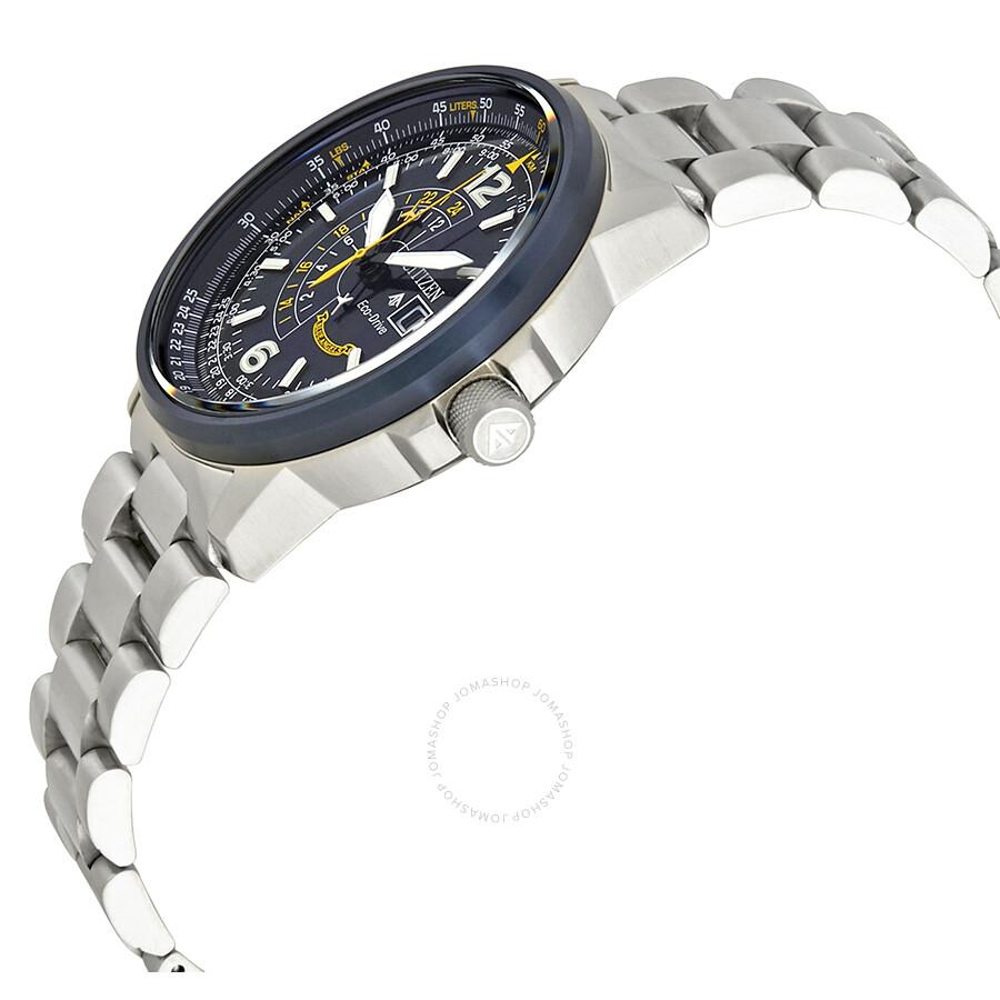 9c7c0e35f22 ... Citizen Promaster Nighthawk Blue Dial Men s Watch BJ7006-56L ...