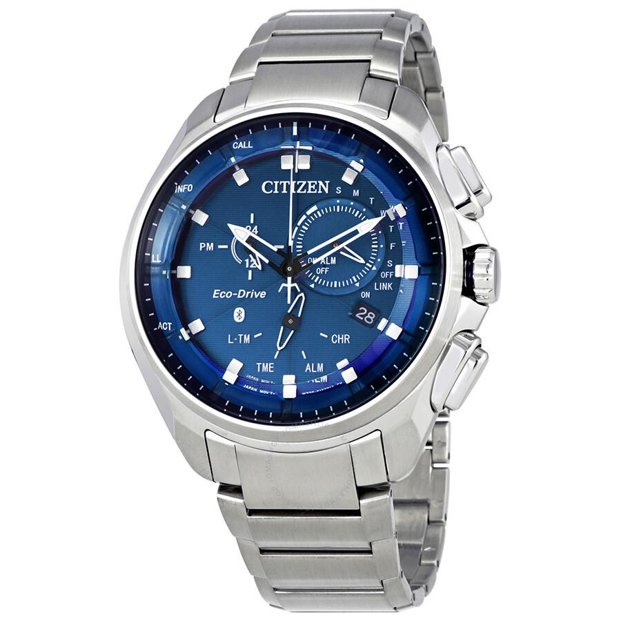 1839fdf4f Citizen Proximity Pryzm Bluetooth Blue Dial Men's Watch BZ1021-54L ...
