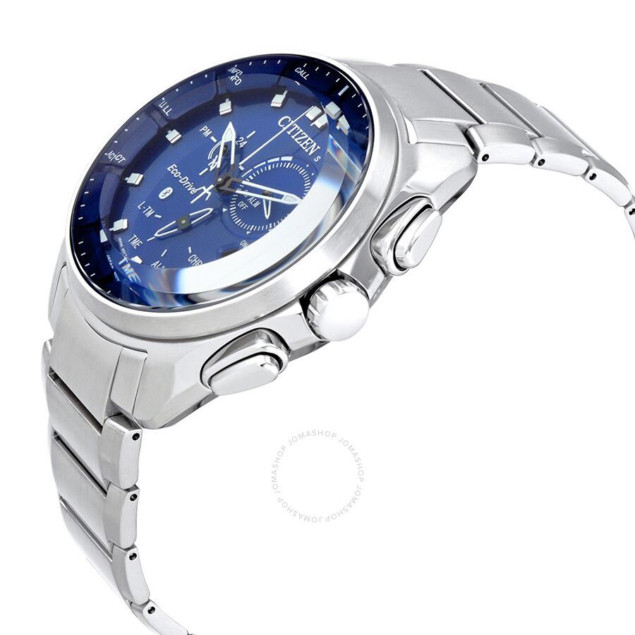 61654230d ... Citizen Proximity Pryzm Bluetooth Blue Dial Men's Watch BZ1021-54L ...