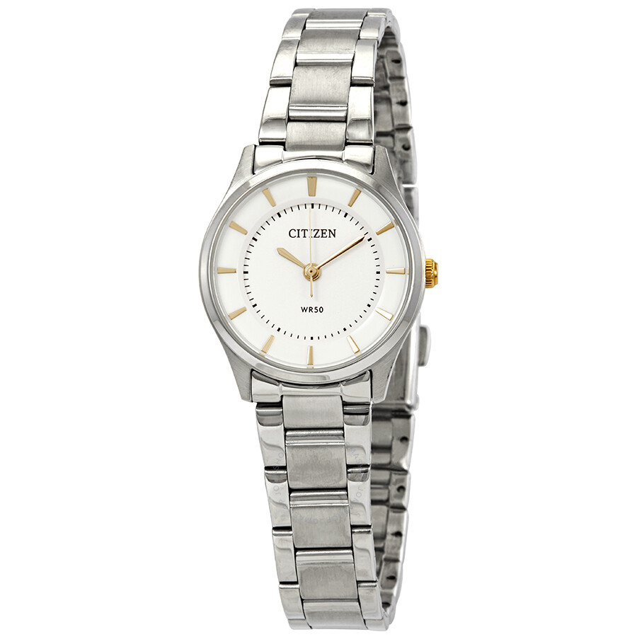 a477bf26532 Citizen Quartz Silver Dial Ladies Watch ER0201-56B - Citizen ...