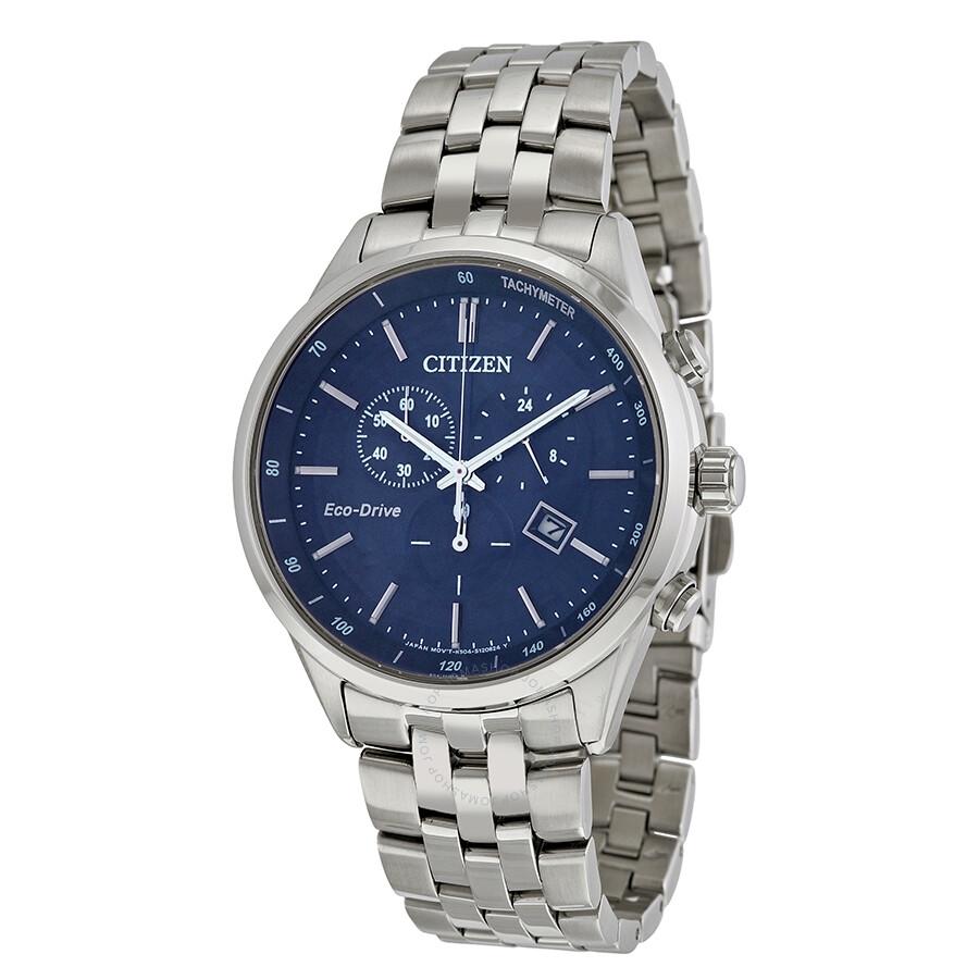 Citizen sapphire collection blue dial men 39 s watch at2141 52l citizen watches jomashop for Citizen watches