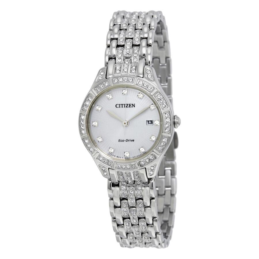 Citizen silhouette crystal ladies watch ew2320 55a silhouette crystal citizen watches for Crystal ladies watch