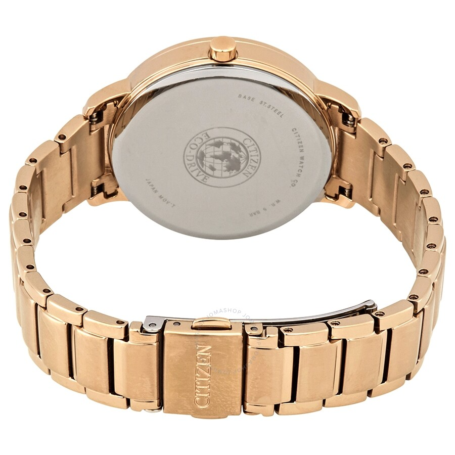 Silhouette Crystal Silver Dial Ladies Watch FE7043-55A