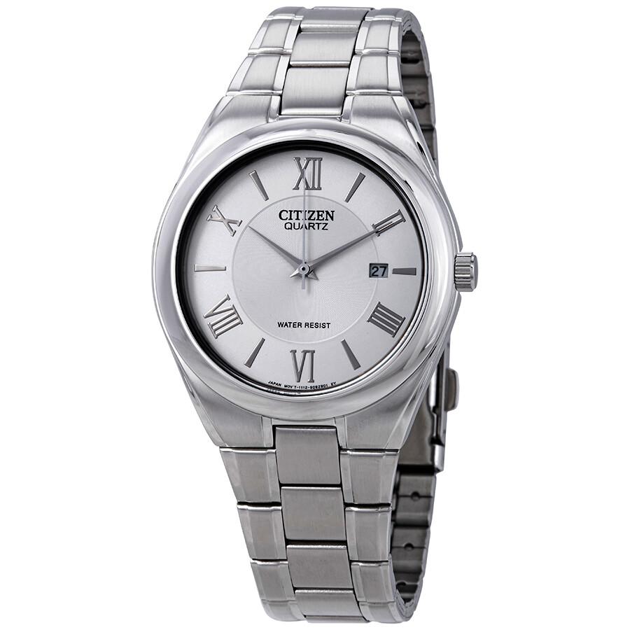 Citizen Silver Dial Men S Watch Bi0950 51a