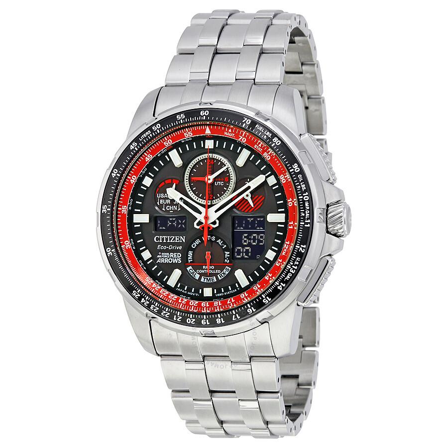 Citizen skyhawk a t chronograph perpetual men 39 s watch jy8059 57e skyhawk citizen watches for Citizen watches