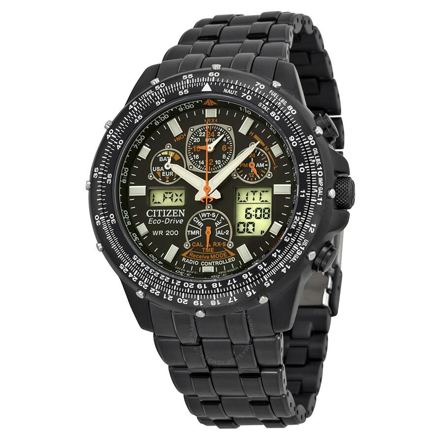 Citizen Skyhawk A-T Eco Drive Men's Watch JY0005-50E - Watches  - Jomashop