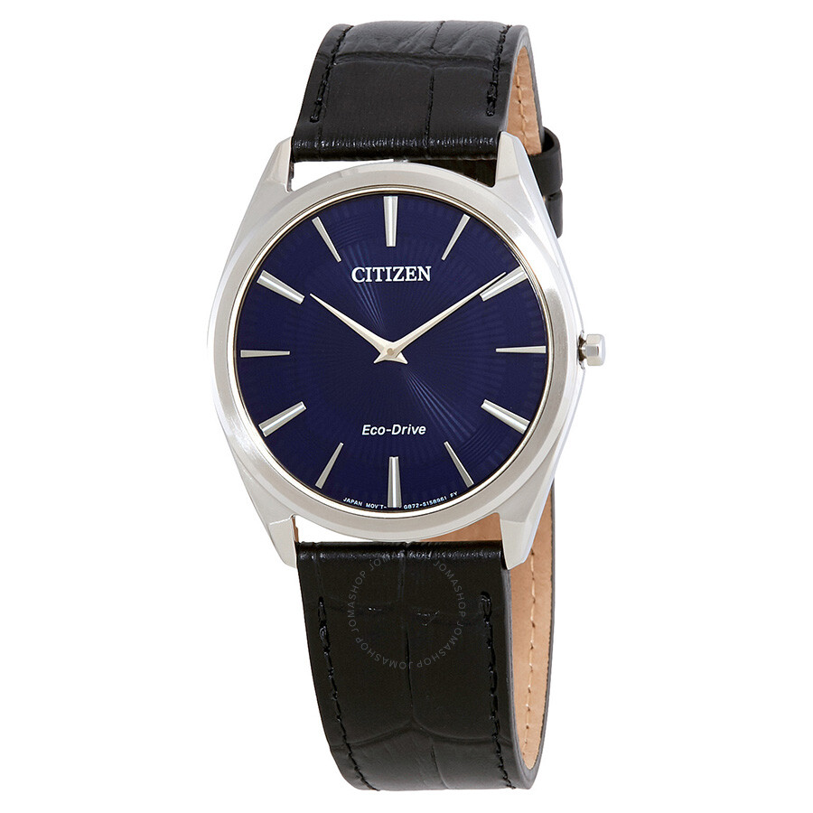 be44c80683a Citizen Stiletto Navy Blue Guilloche Dial Men s Watch AR3070-04L ...