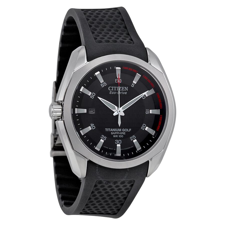 Citizen Titanium Golf Eco Drive Men's Watch BM7120-01E ...