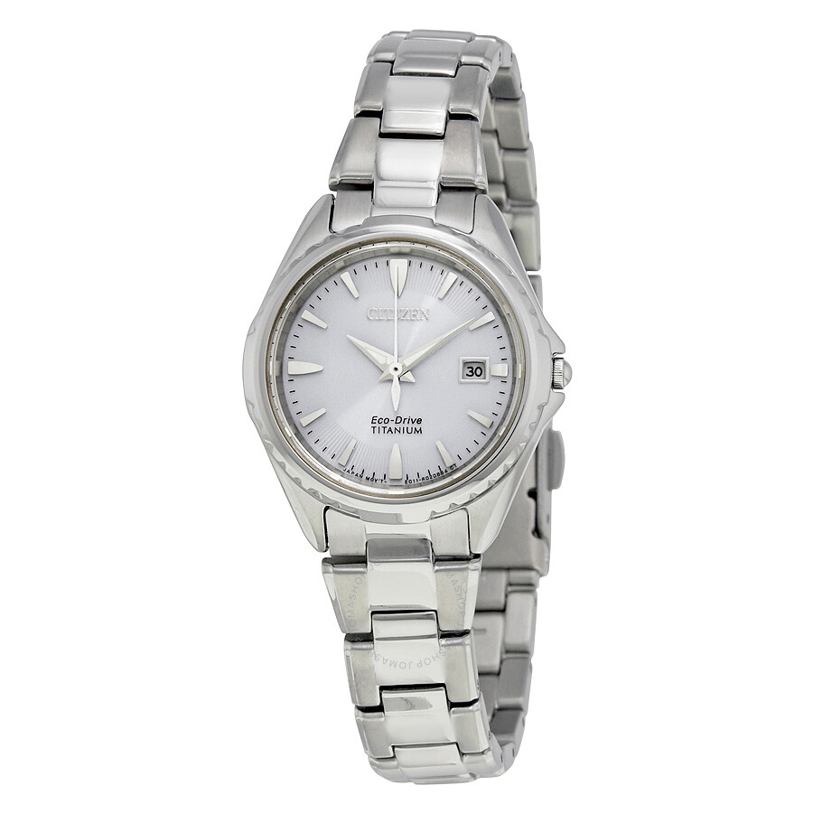Citizen titanium ladies watch ew2410 54l citizen watches jomashop for Titanium watches