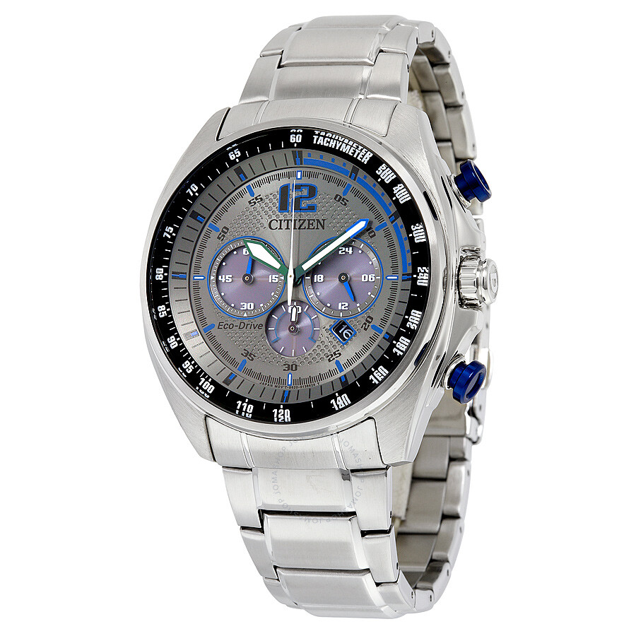 Citizen WDR Eco-Drive Charcoal Dial Men's Watch CA4190-54H ...