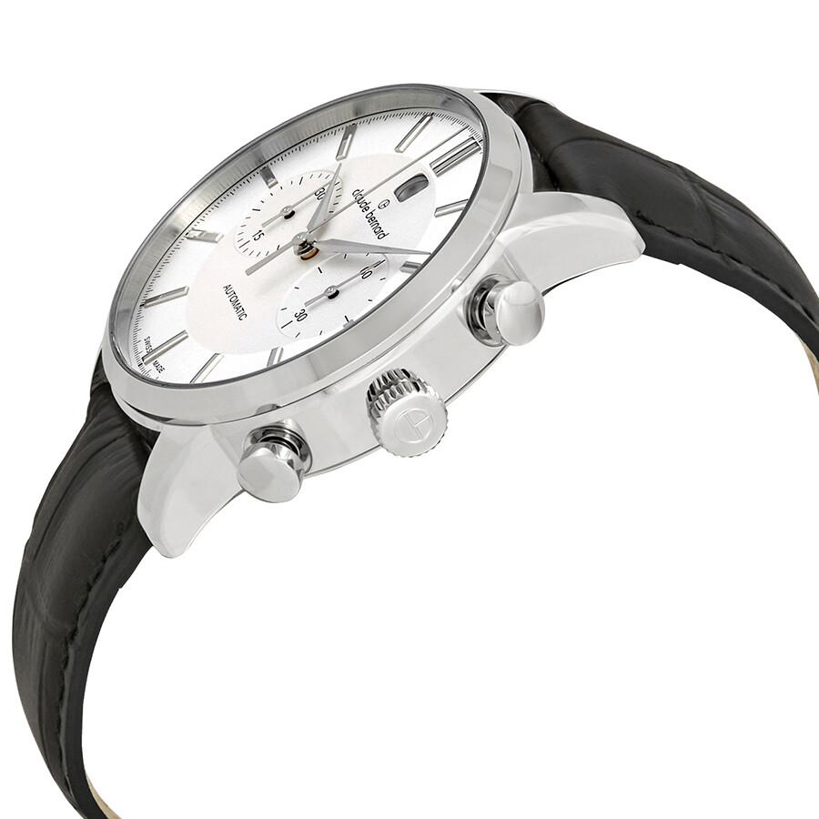 dd7998c35 ... Claude Bernard Classic Chronograph Automatic Silver Dial Men's Watch  08001 3 AIN ...