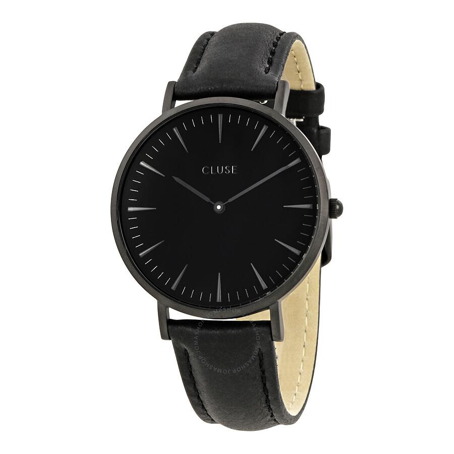 cluse la boheme black dial ladies casual watch cl18501 cluse watches jomashop. Black Bedroom Furniture Sets. Home Design Ideas