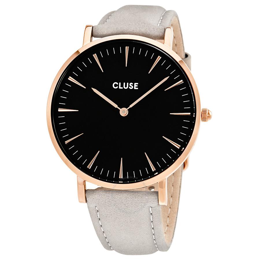 cluse la boheme black dial ladies watch cl18018 cluse watches jomashop. Black Bedroom Furniture Sets. Home Design Ideas