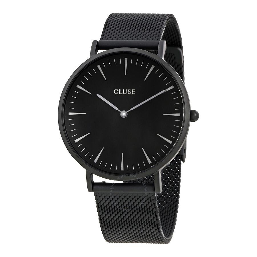 cluse la boheme black dial ladies watch cl18111 cluse watches jomashop. Black Bedroom Furniture Sets. Home Design Ideas