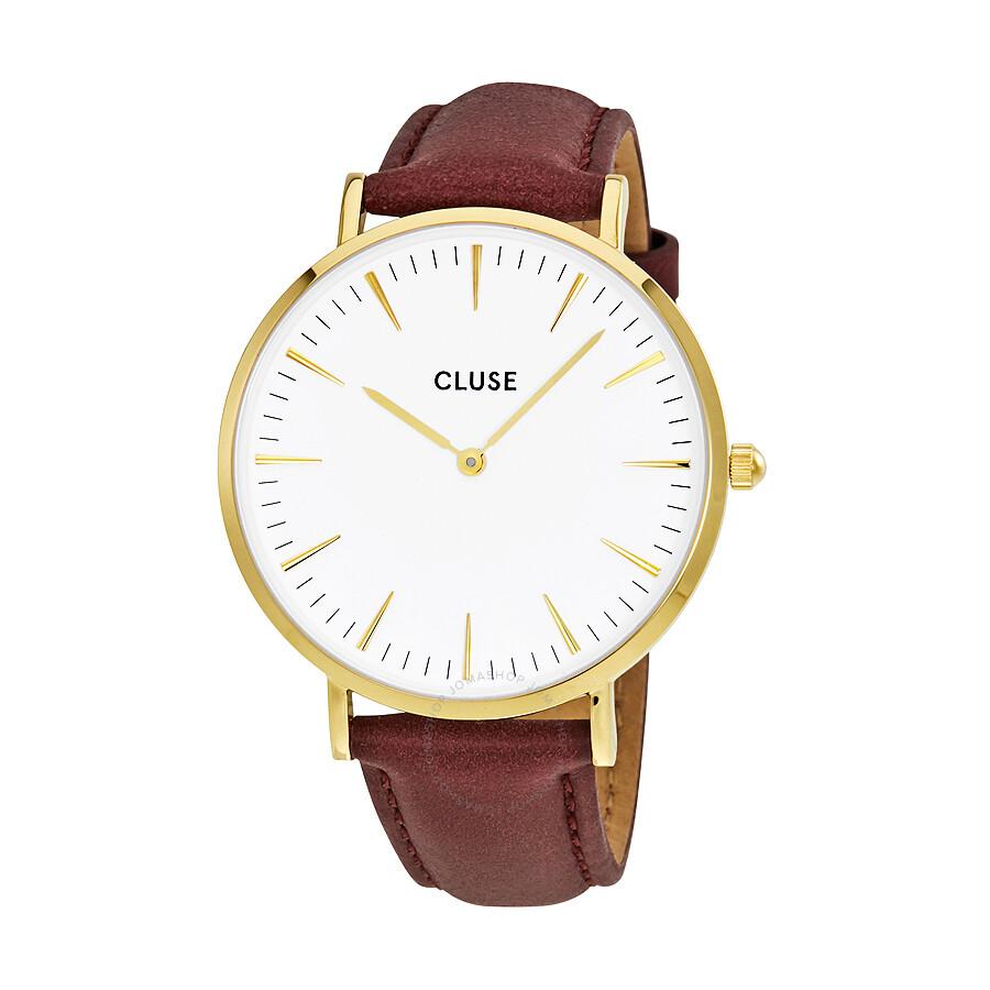 cluse la boheme white dial ladies watch cl18415 cluse watches jomashop. Black Bedroom Furniture Sets. Home Design Ideas