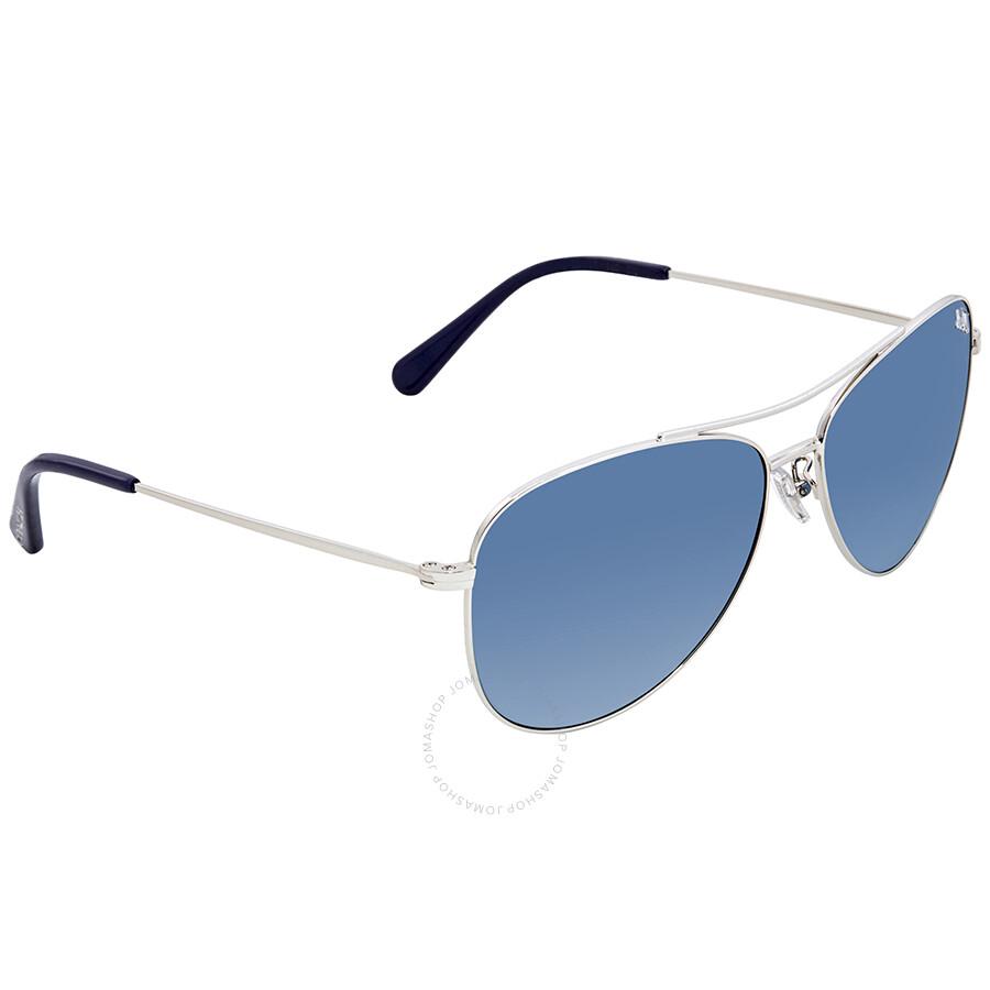 e81efb00f927e Coach Blue Gradient Aviator Sunglasses HC7079 90014S Item No. HC7079 90014S  58