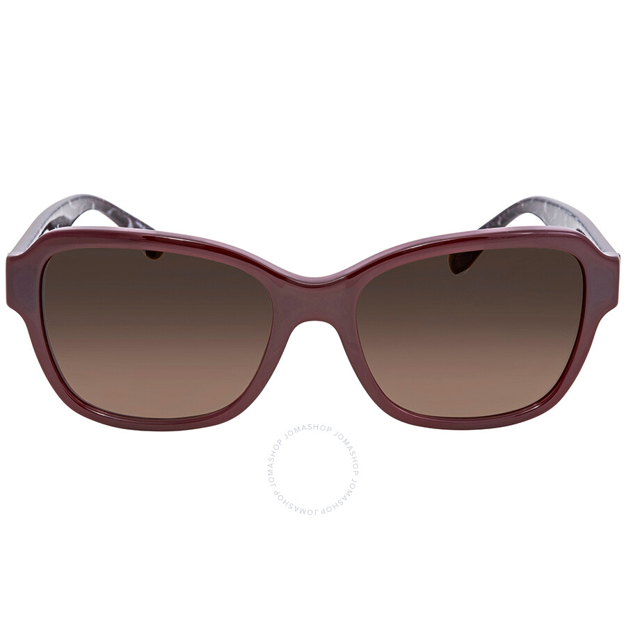 e93be1839aa2f ... Coach Dark Brown Gradient Rectangular Sunglasses HC8232 550913 56 ...