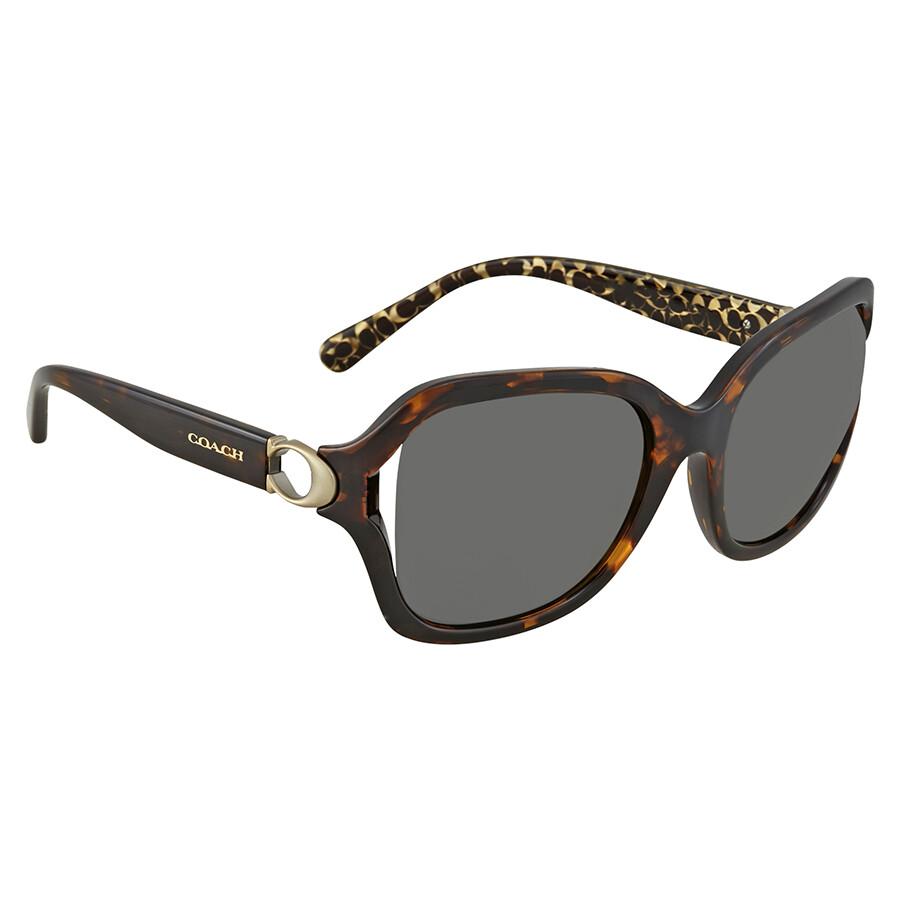 16943be19c7 Coach Square Ladies Sunglasses 0HC8238 550787 57 - Coach ...