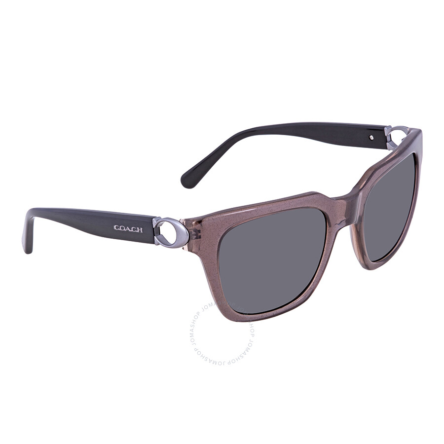 daed1271e711 ... canada coach dark grey solid square ladies sunglasses hc8240 544787 52  aef30 893be