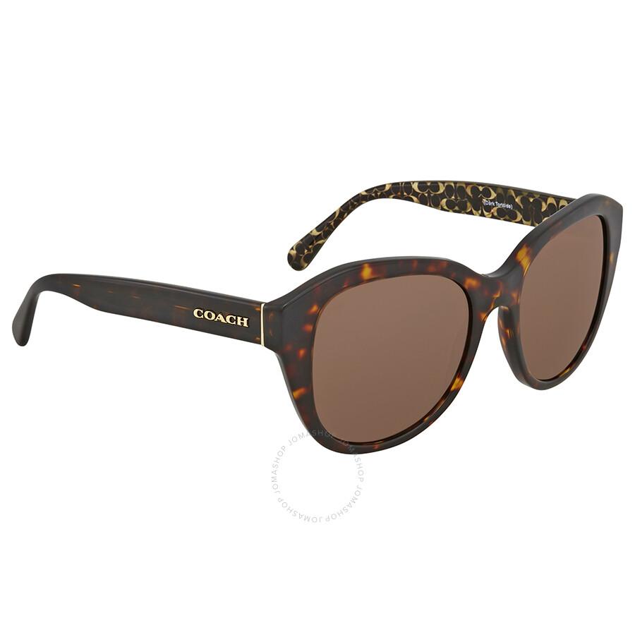 024f6d2f6f Coach Dark Tortoise Sunglasses HC8231 550773 54 - Coach - Sunglasses ...