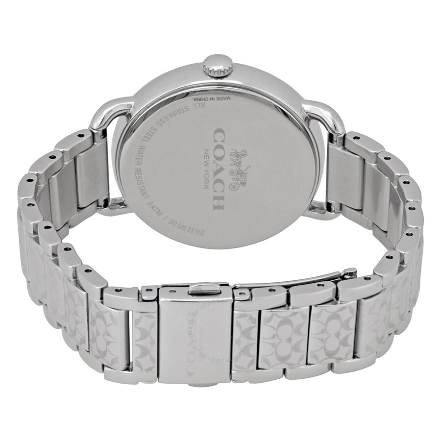 f9c91ea478cf Coach Delancey Silver Dial Stainless Steel Ladies Watch 14502495 ...