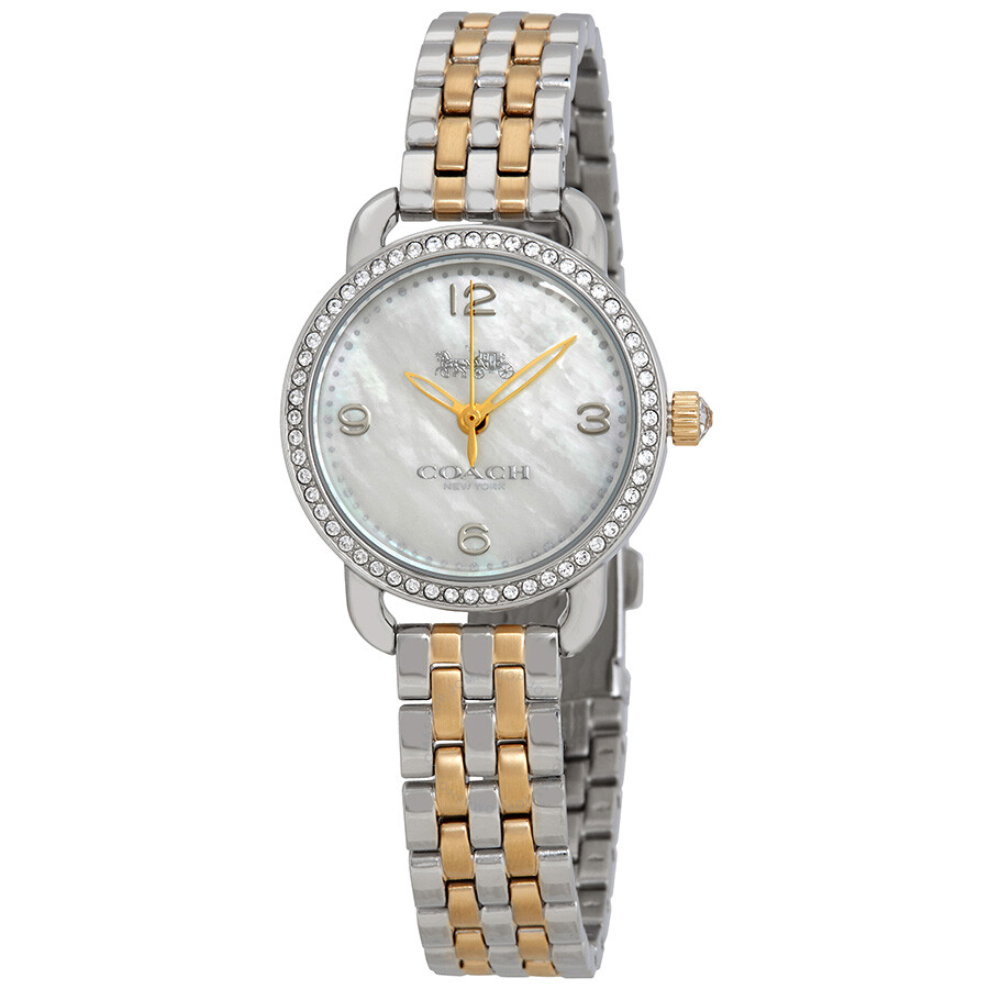 Coach delancey mother of pearl dial ladies watch 14502480 coach watches jomashop for Mother of pearl dial watch